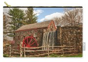 Longfellow's Wayside Inn Grist Mill Carry-all Pouch by Jeff Folger