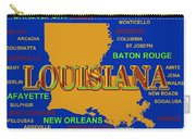 Louisiana State Pride Map Silhouette  Carry-all Pouch