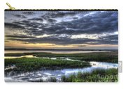 Cloud Reflections Over The Marsh Carry-all Pouch
