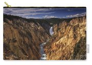 Lower Yellowstone Falls II Carry-all Pouch