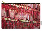Lucky Wishes In Chinese Temple Carry-all Pouch