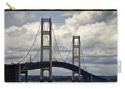 Mackinaw Bridge By The Straits Of Mackinac Carry-all Pouch