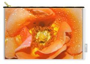 Macro Image Of A Rose Carry-all Pouch