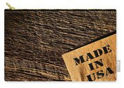 Made In Usa Carry-all Pouch