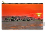Louisiana Sunset Of The Madisonville Lighthouse  Carry-all Pouch