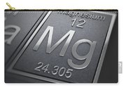 Magnesium Chemical Element Carry-all Pouch