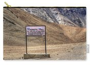 Magnetic Hill  Leh Ladakh Jammu And Kashmir India Carry-all Pouch