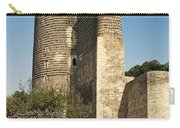Maidens Tower In Baku Azerbaijan Carry-all Pouch