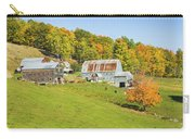 Maine Farm On Side Of Hill In Autumn Carry-all Pouch