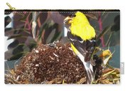 Male American Goldfinch Carry-all Pouch