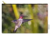 Male Anna's Hummingbird Carry-all Pouch