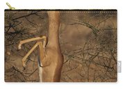 Male Gerenuk Carry-all Pouch