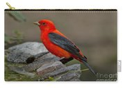 Male Scarlet Tanager Carry-all Pouch