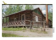 Mamma Cabin At The Holzwarth Historic Site Carry-all Pouch