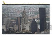 Manhattan From The Empire State Building Carry-all Pouch