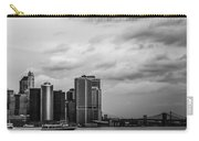 Manhattan Skyline Right Triptych Carry-all Pouch