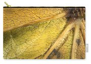 Maple Leaf Detail Carry-all Pouch
