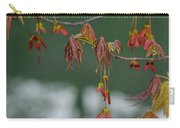 Maple Red Samaras Carry-all Pouch