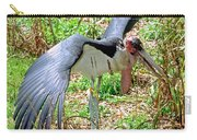 Marabou Stork Carry-all Pouch