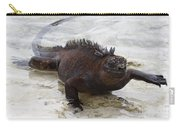 Marine Iguana Galapagos Carry-all Pouch