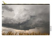 Marshmallow - Bubbling Storm Cloud Over Wheat In Kansas Carry-all Pouch