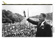 Martin Luther King The Great March On Washington Lincoln Memorial August 28 1963-2014 Carry-all Pouch