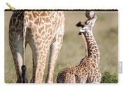 Masai Giraffe Giraffa Camelopardalis Carry-all Pouch