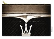 Maserati Hood - Grille Emblems Carry-all Pouch