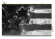 Max Americana In Black And White Carry-all Pouch