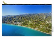 Mediterranean Sea From The Air Carry-all Pouch