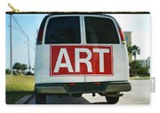 Meeting Warhol Carry-all Pouch by Laura Fasulo