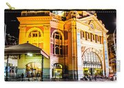 Melbourne At Night Carry-all Pouch