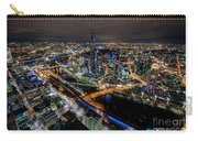 Melbourne At Night Vi Carry-all Pouch