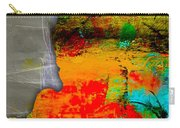 Memphis Map Watercolor Carry-all Pouch