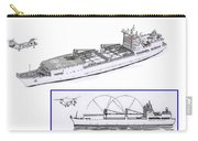 Merchant Marine Conceptual Drawing Carry-all Pouch