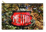 Metro Sign, Paris, France Carry-all Pouch