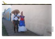 Mexican Revolutionary Re-enactor With His  Lady Helldorado Days Tombstone Arizona 2004 Carry-all Pouch