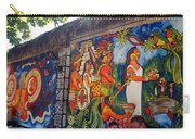 Mexican Wall Art Carry-all Pouch