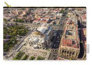 Mexico City Aerial View Carry-all Pouch