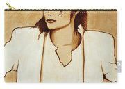 Michael Jackson Original Coffee Painting Carry-all Pouch