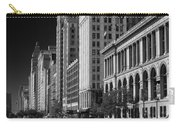 Michigan Avenue Chicago B W Carry-all Pouch