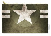 Military Army Star Background Carry-all Pouch