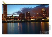 Milwaukee Skyline At Dusk Carry-all Pouch