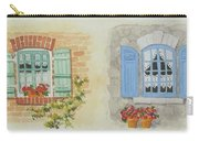 Miniature Paintings Of Brittany's Windows Carry-all Pouch