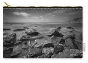 Misty Rocks Bw Carry-all Pouch