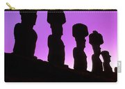 Moais Easter Island Chile Carry-all Pouch