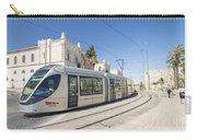 Modern Tram In Central Jerusalem Israel Carry-all Pouch