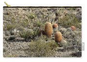 Mojave Desert Cactus Carry-all Pouch