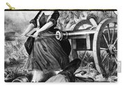 Molly Pitcher (c1754-1832) Carry-all Pouch