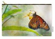 Queen Butterfly Danaus Gilippus Carry-all Pouch
